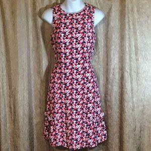 Michael Kors Floral Crepe Dress Size 2